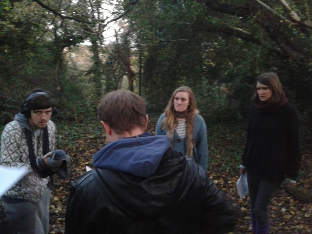 On location with Andy Goddard, Chris Keyna, Eleanor Rushton and Beth Eyre