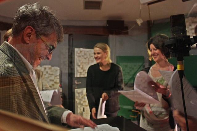 Steve Hodson, Elle McAlpine, Catriona Knox | Photograph by Lars Thornhill