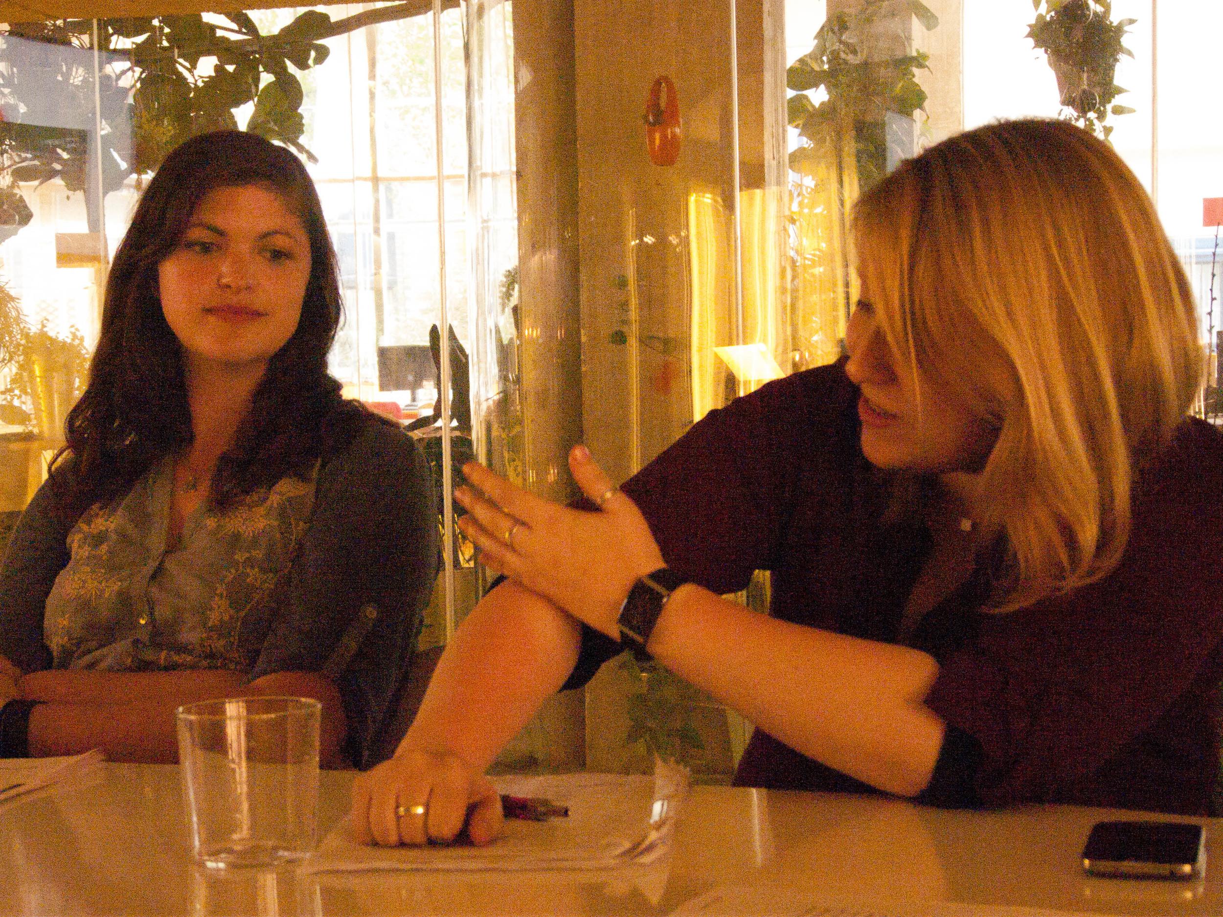 Lauren and Liz discuss the finer points of sunburn