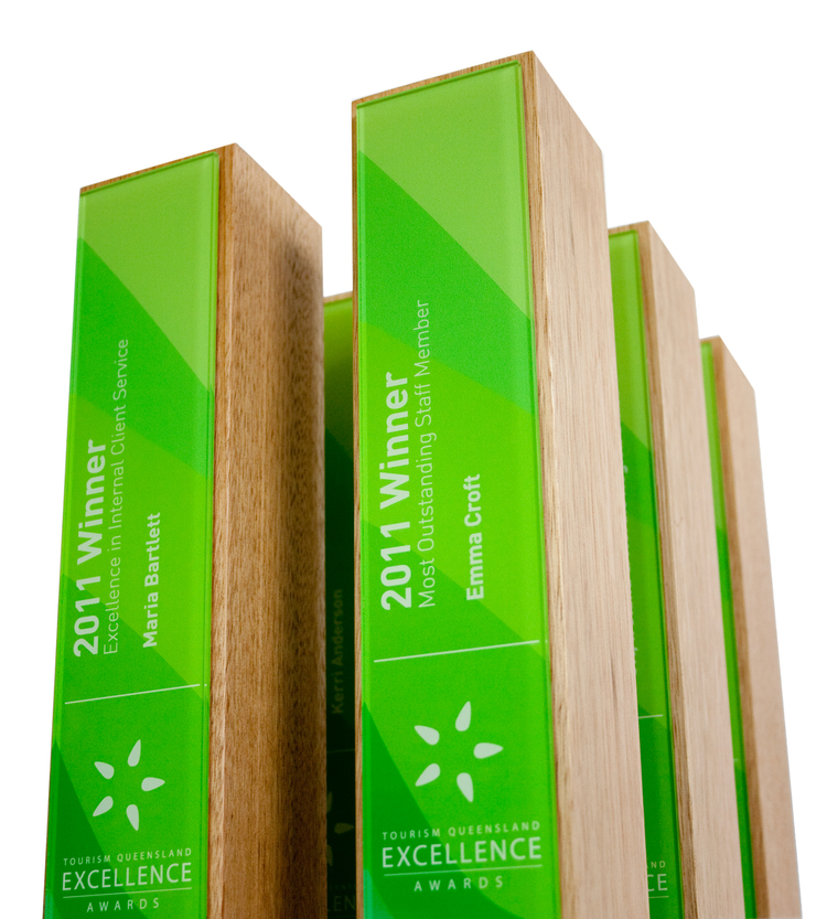 classic custom eco-friendly awards and plaques