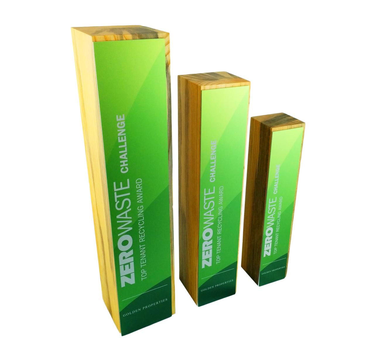 classic custom award eco friendly trophy