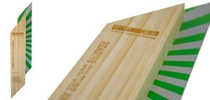 achieve bamboo custom eco-friendly plaques and trophies