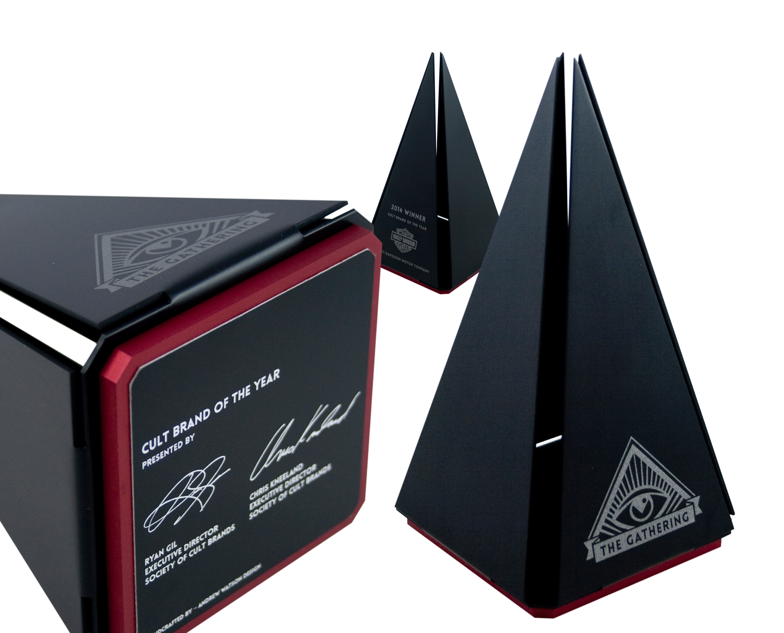 pyramid custom awards