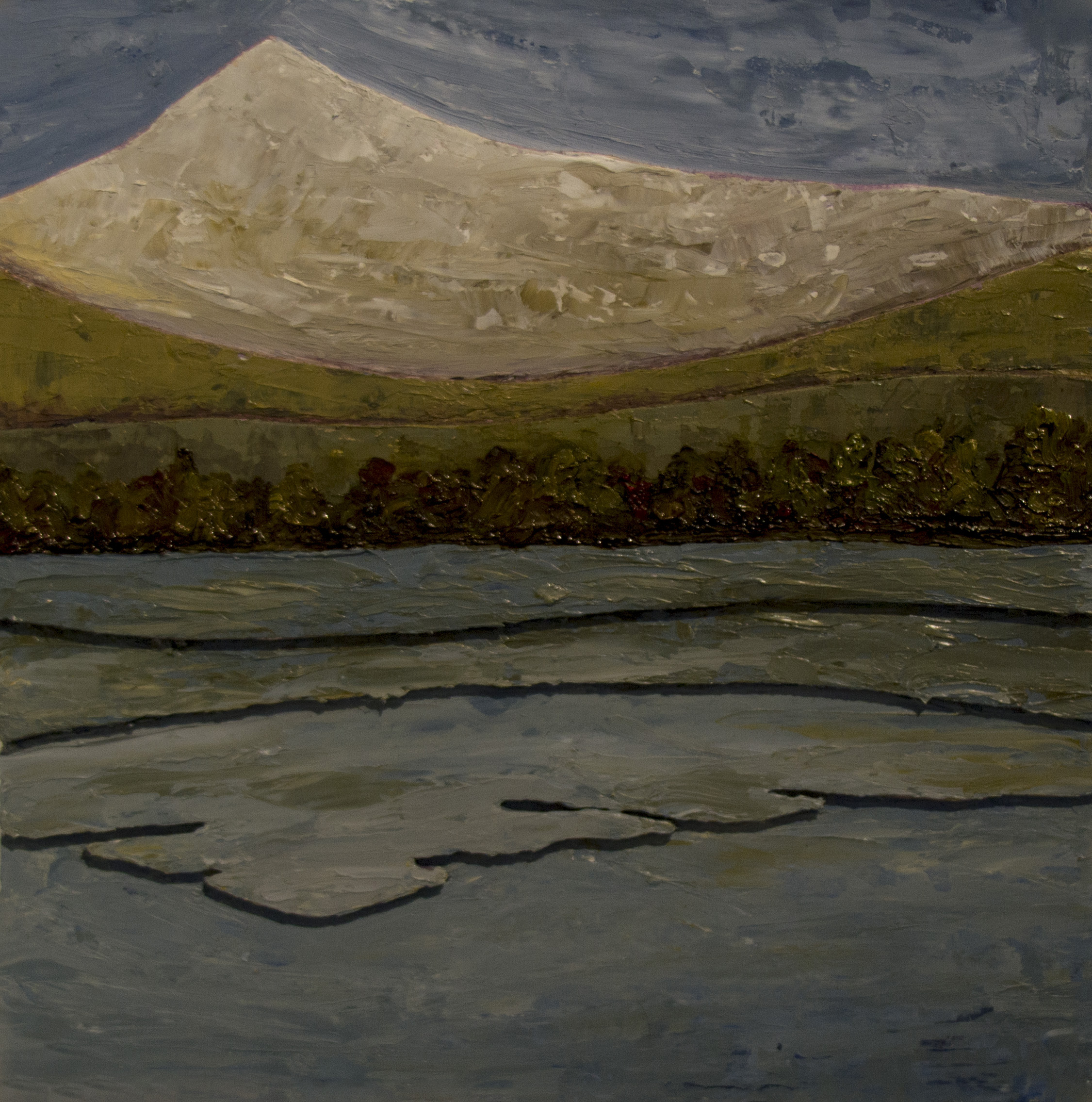 Tarn Reflections, 2014.  Sold. Private Collection.