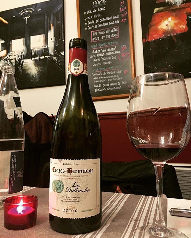 #Hermitage wine, so so so good!  #rhone #paris #france #frenchwine  #syrah