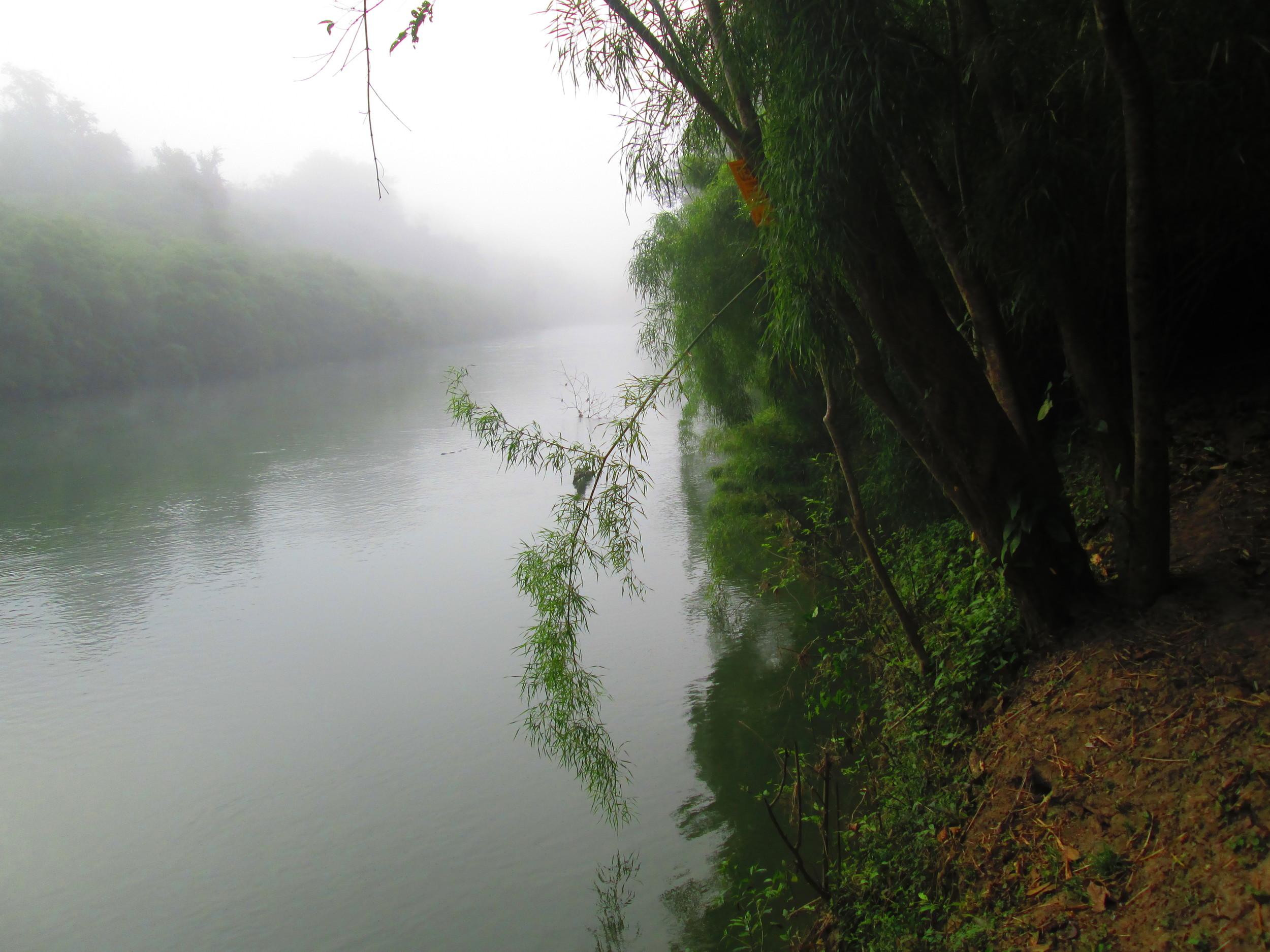Belize River Bank Misty.JPG