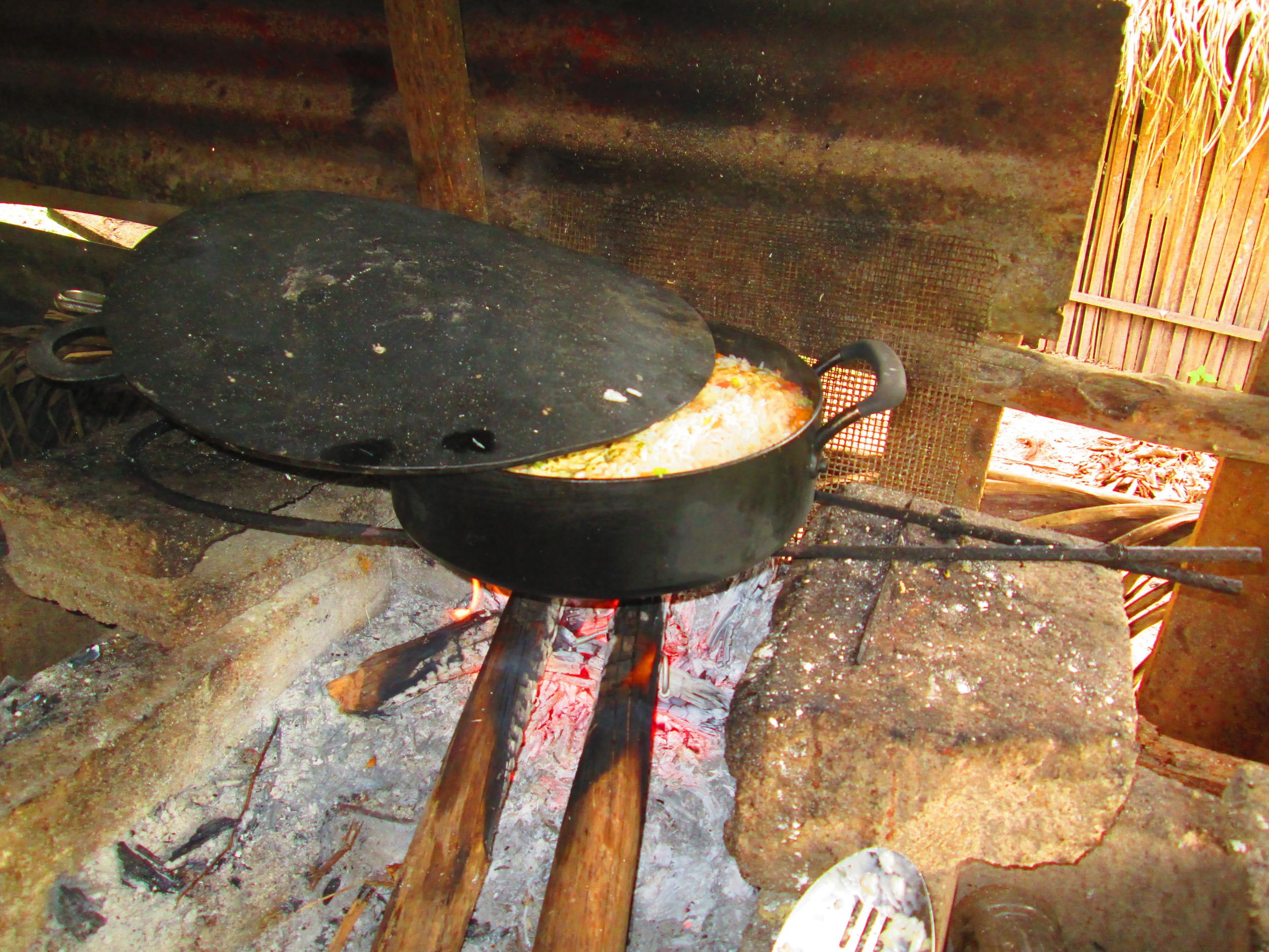 Cooking on Wood Harth.JPG