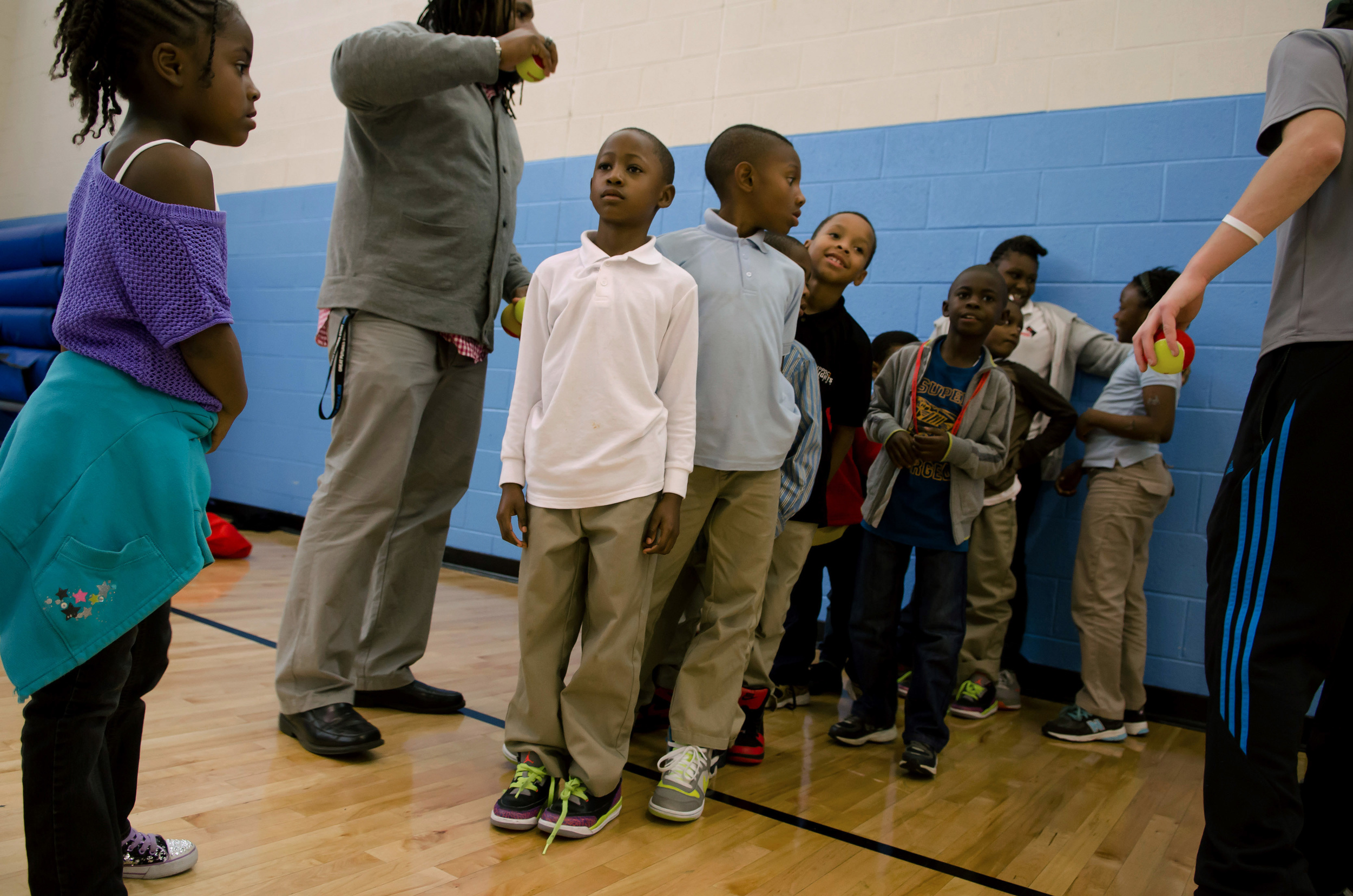 Boys and Girls Clubs of Greater Washington, FBR at TheARC Club, Washington, DC.