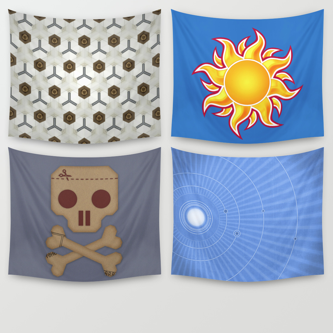 A small selection of my big tapestries