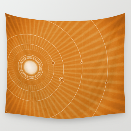 Tapestries:51×60″, 68×80″, 88×104″