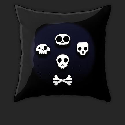 Throw pillows, Duvets