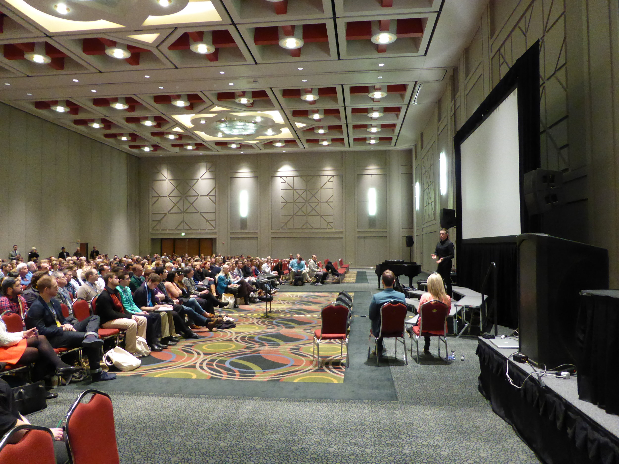 Michael presenting at the American Choral Directors Association National Conference March 2015