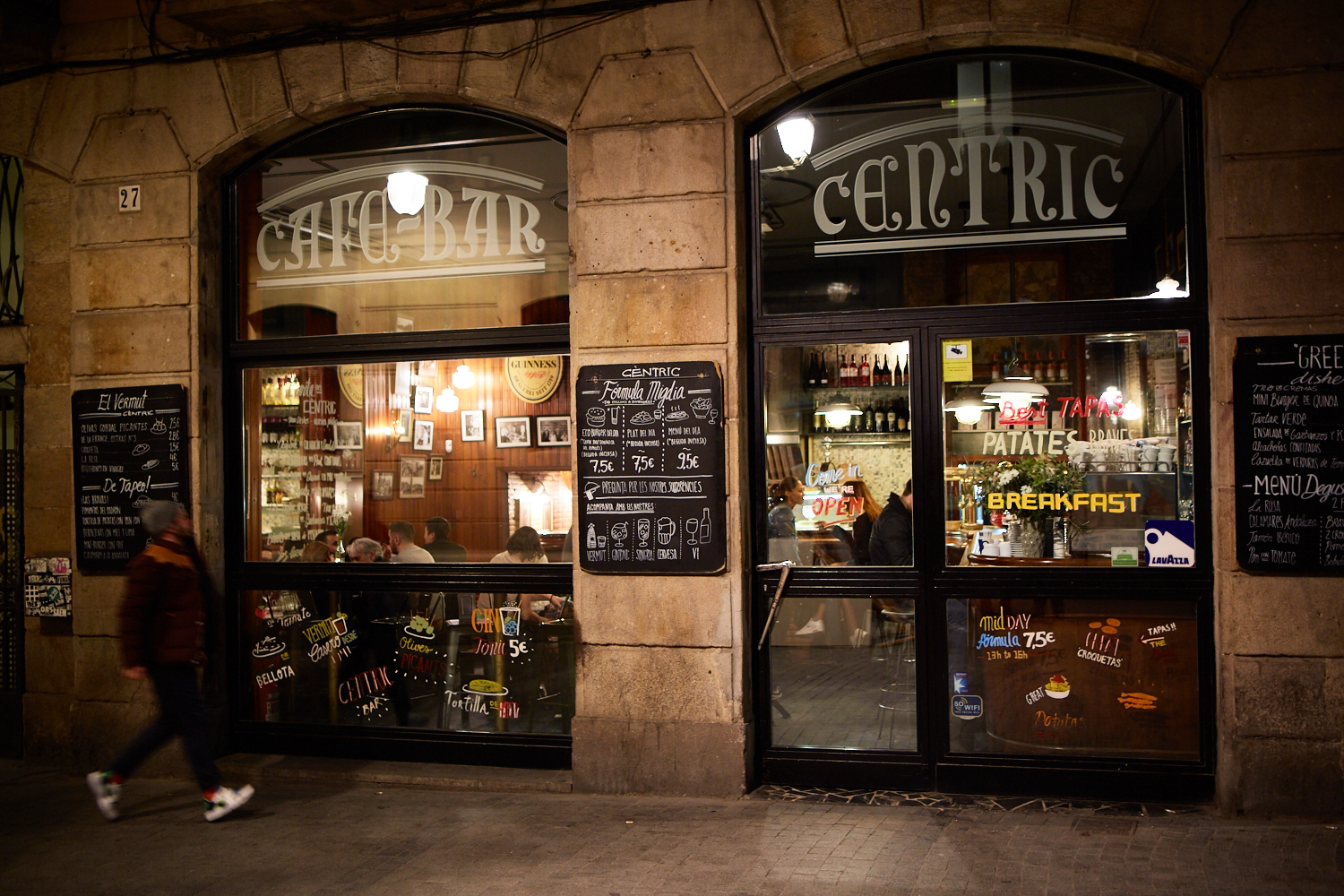 Bar Centric, Barcelona Spain