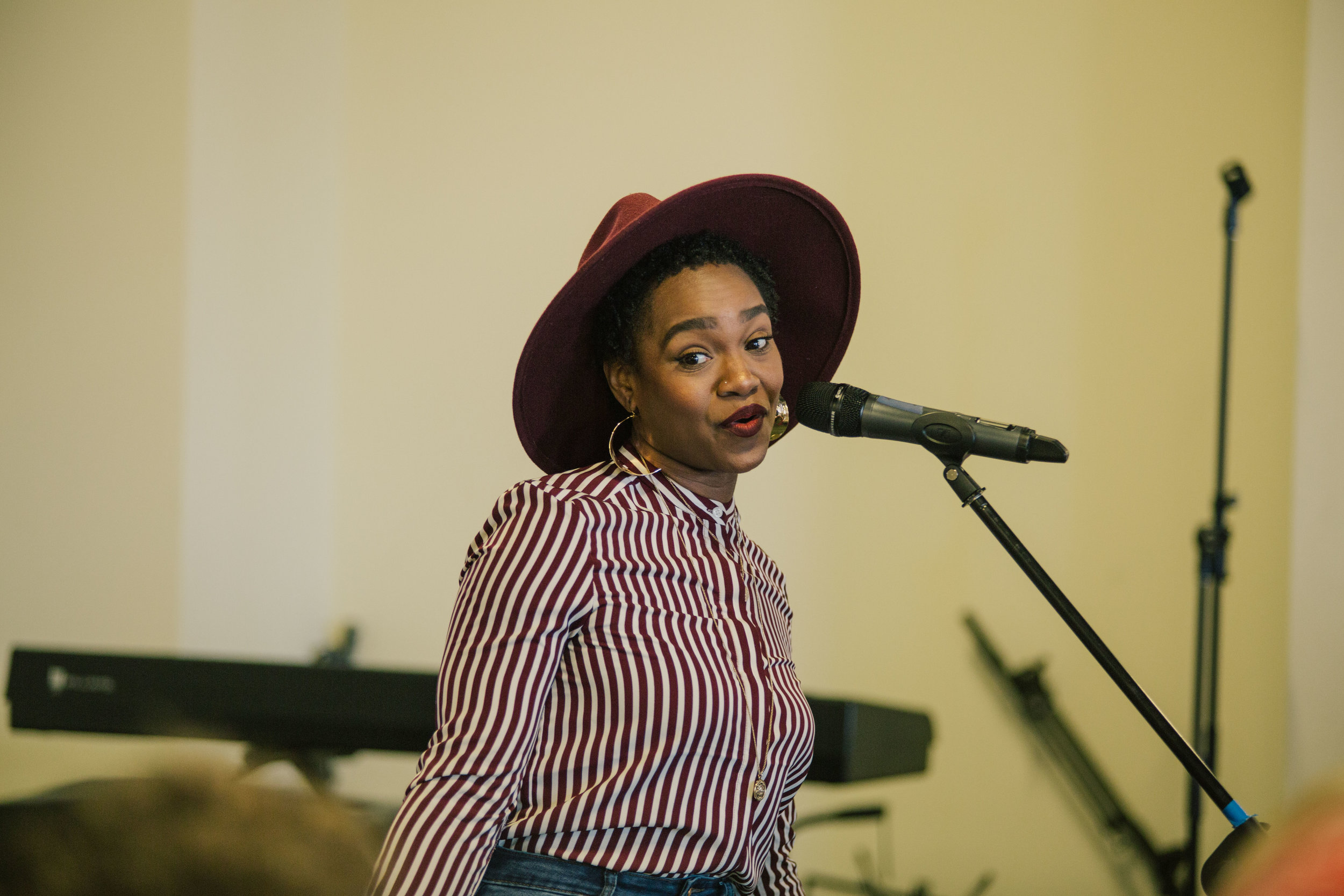 Southern Word poet mentor Tia Smedley.