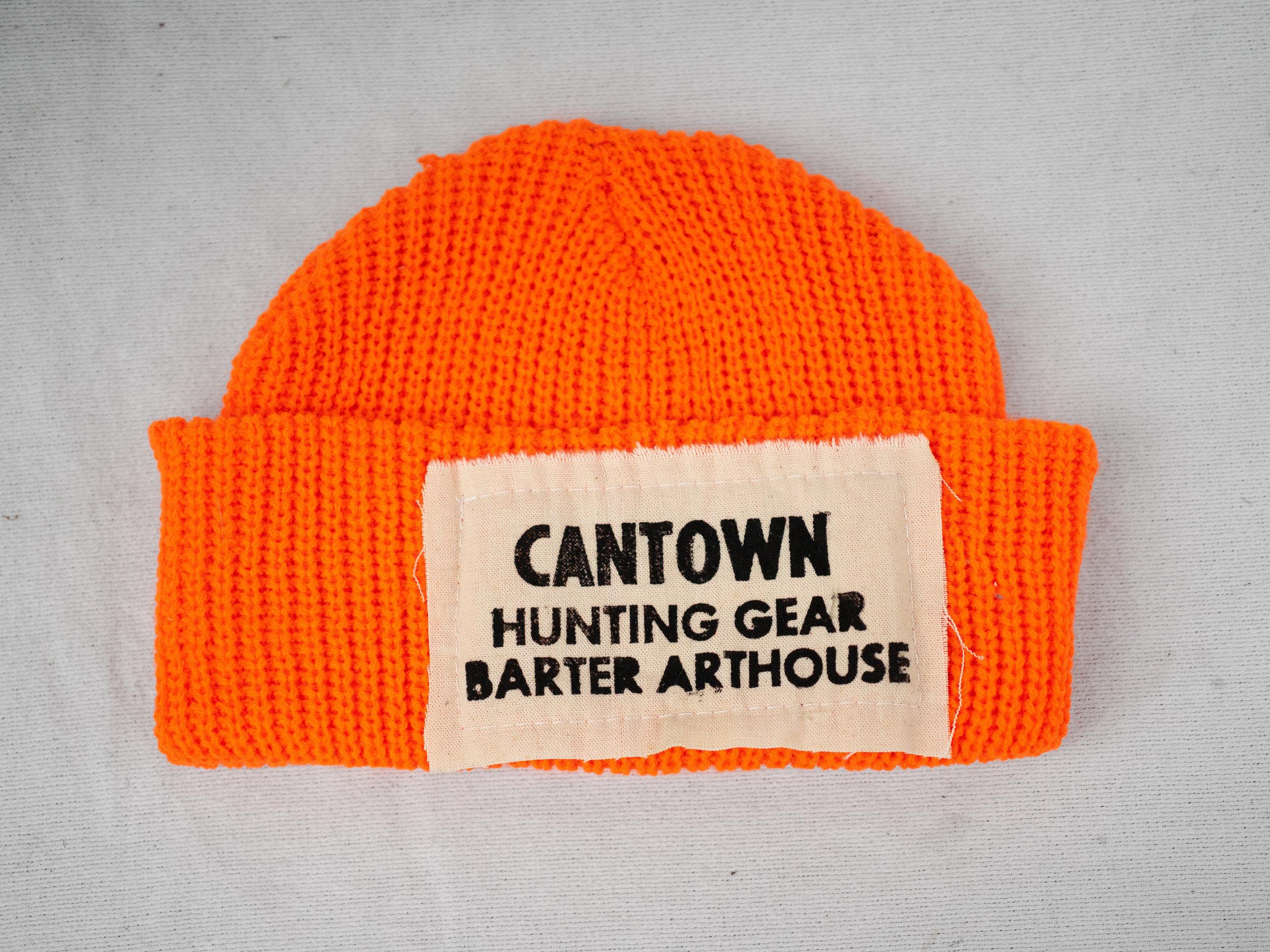 Matt Barter Cantown Hunting Gear Blaze Orange knit caps 30.00 quantity 5