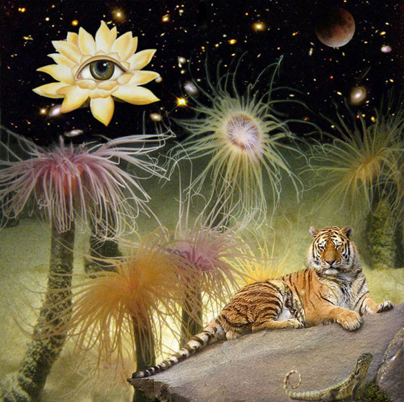 The Tyger( (after William Blake).  2010.