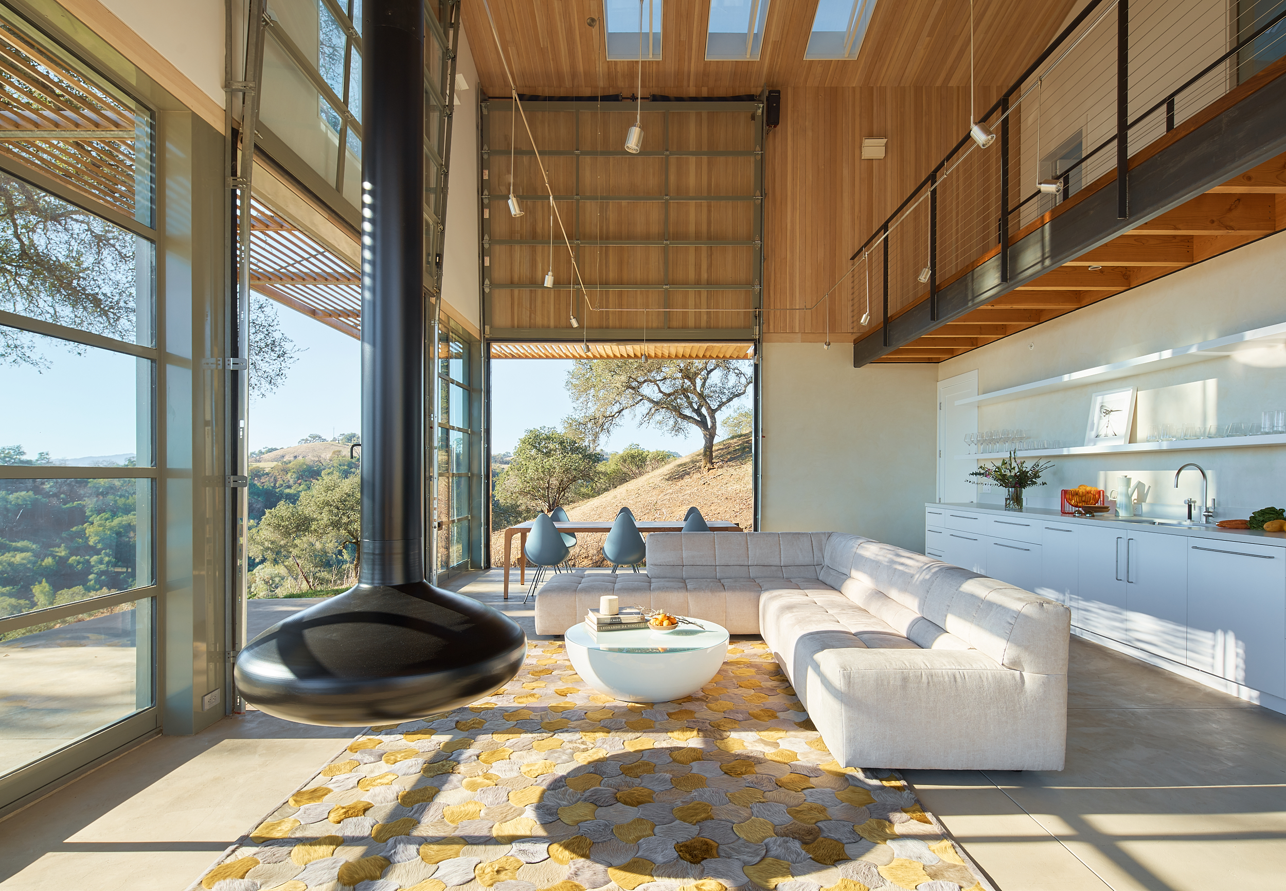 Kleman Design- Hilltop Pool House
