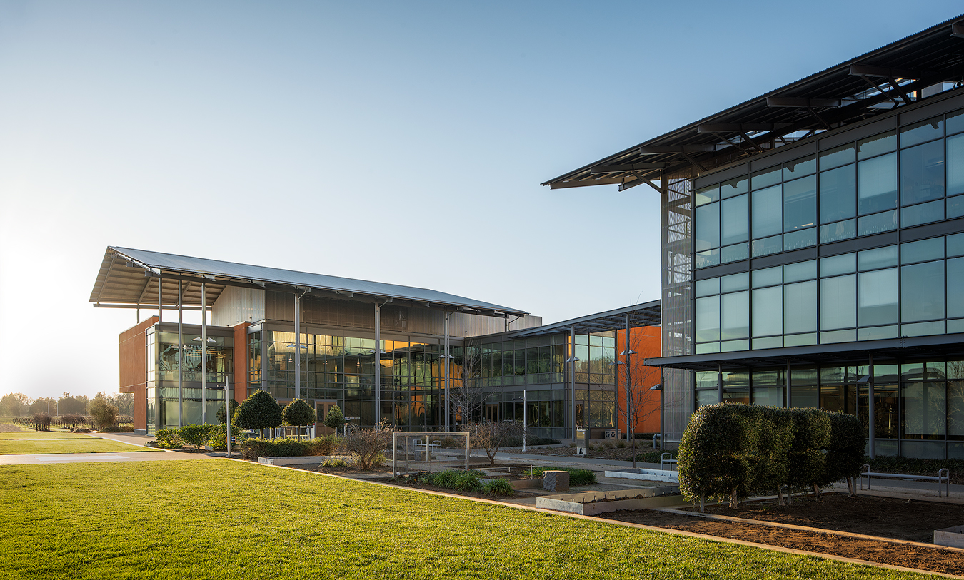 ZGF Architects-  Robert Mondavi Institute for Wine and Food Science- Davis, CA