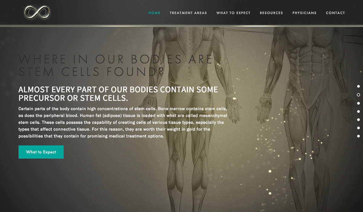 Medical Web Design Example