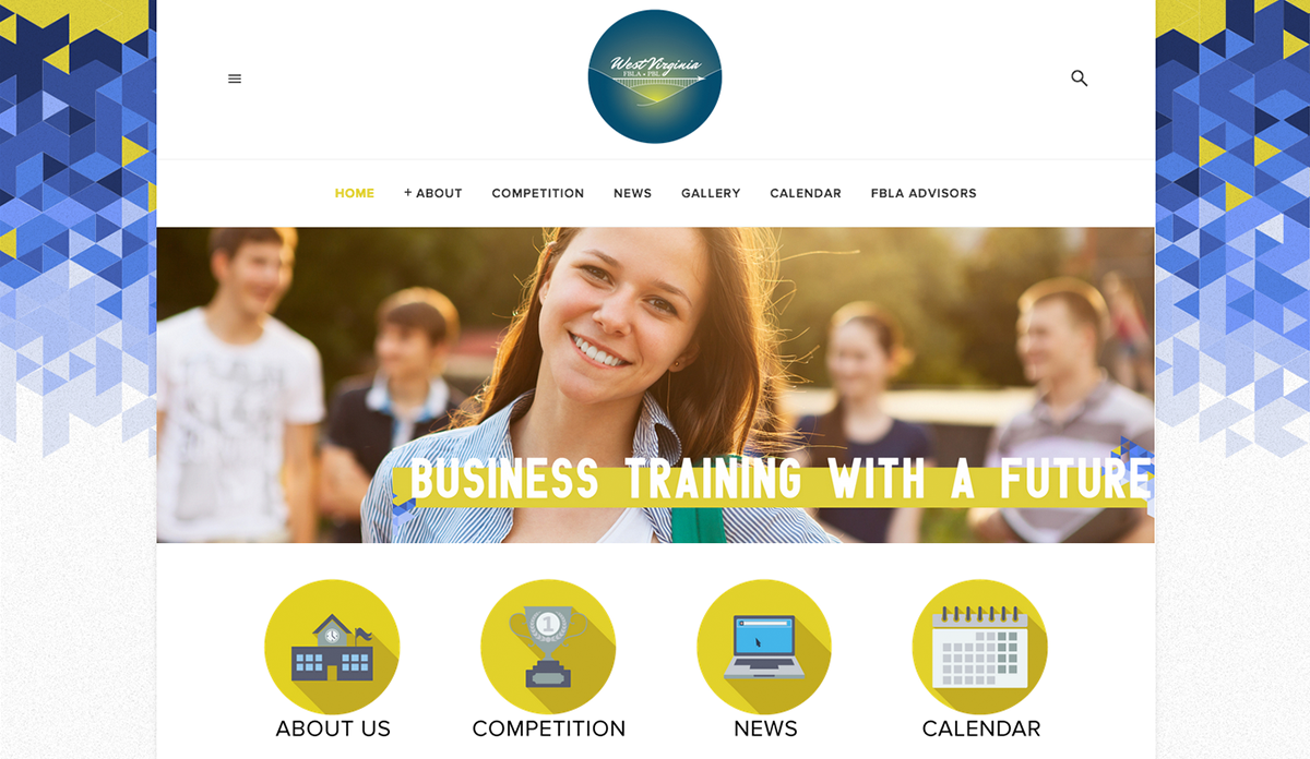 West Virginia Future Business Leaders Association, Publishing & Education Web Design