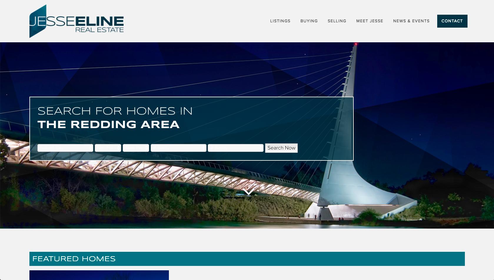 Jesse Eline Real Estate Website