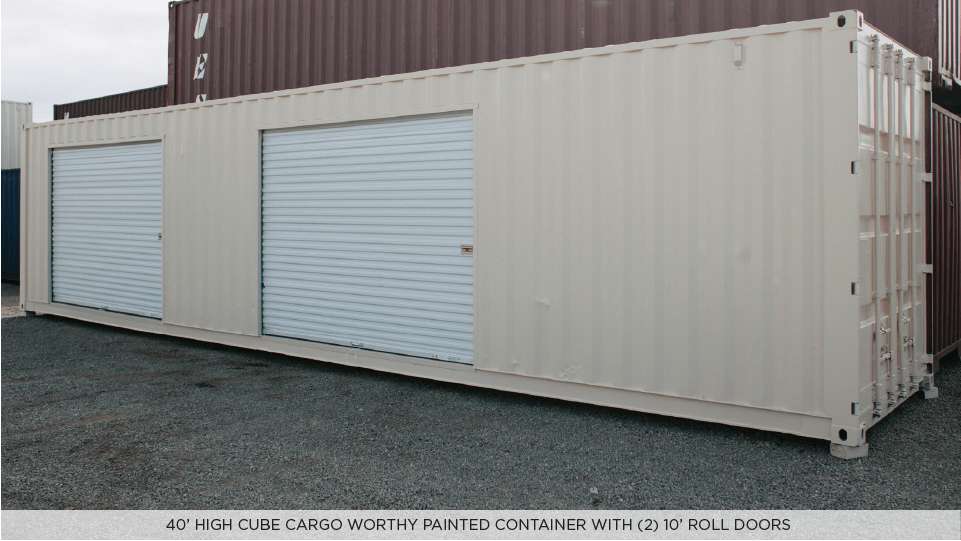 DRY STORAGE SHIPPING CONTAINERS — Midstate Containers