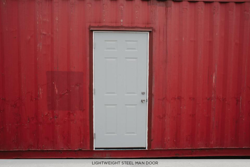 LIGHTWEIGHT STEEL MAN DOOR STORAGE CONTAINER.png