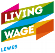 Living Wage Logo on Sun Rose Care website by 100designs