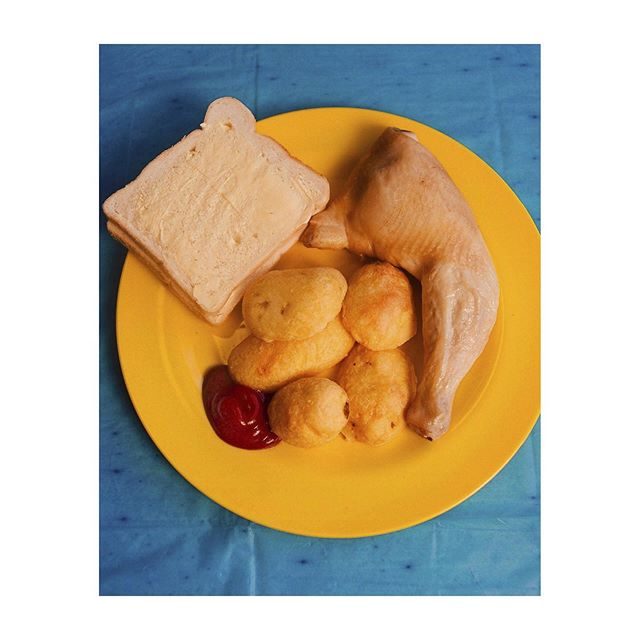 I shot prison food for @thefacemagazine about @foodbehindbars which is a campaign to improve food in prison created by @lucindamegan did you know that one prisoner found dish washer pellets in his food? Gross! Thank you @celibatewives 💘#prison #food #foodbehindbars #film #food #stilllife #bexday