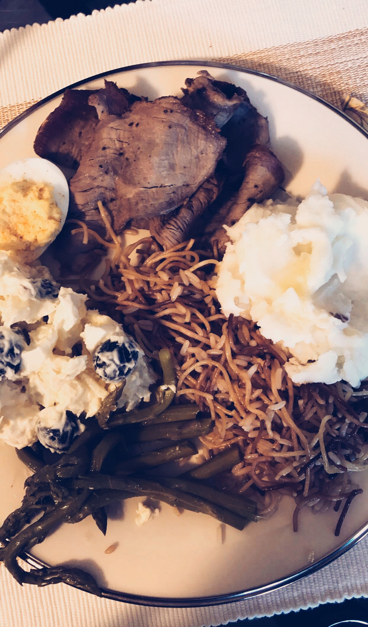 One of the delicious Thanksgiving meals I got to enjoy (yes I prefer tri-tip over turkey)