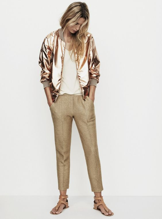 Image Via  Pinterest   1. Though I love love love winter, this golden look makes me excited for a beachy vacation somewhere!