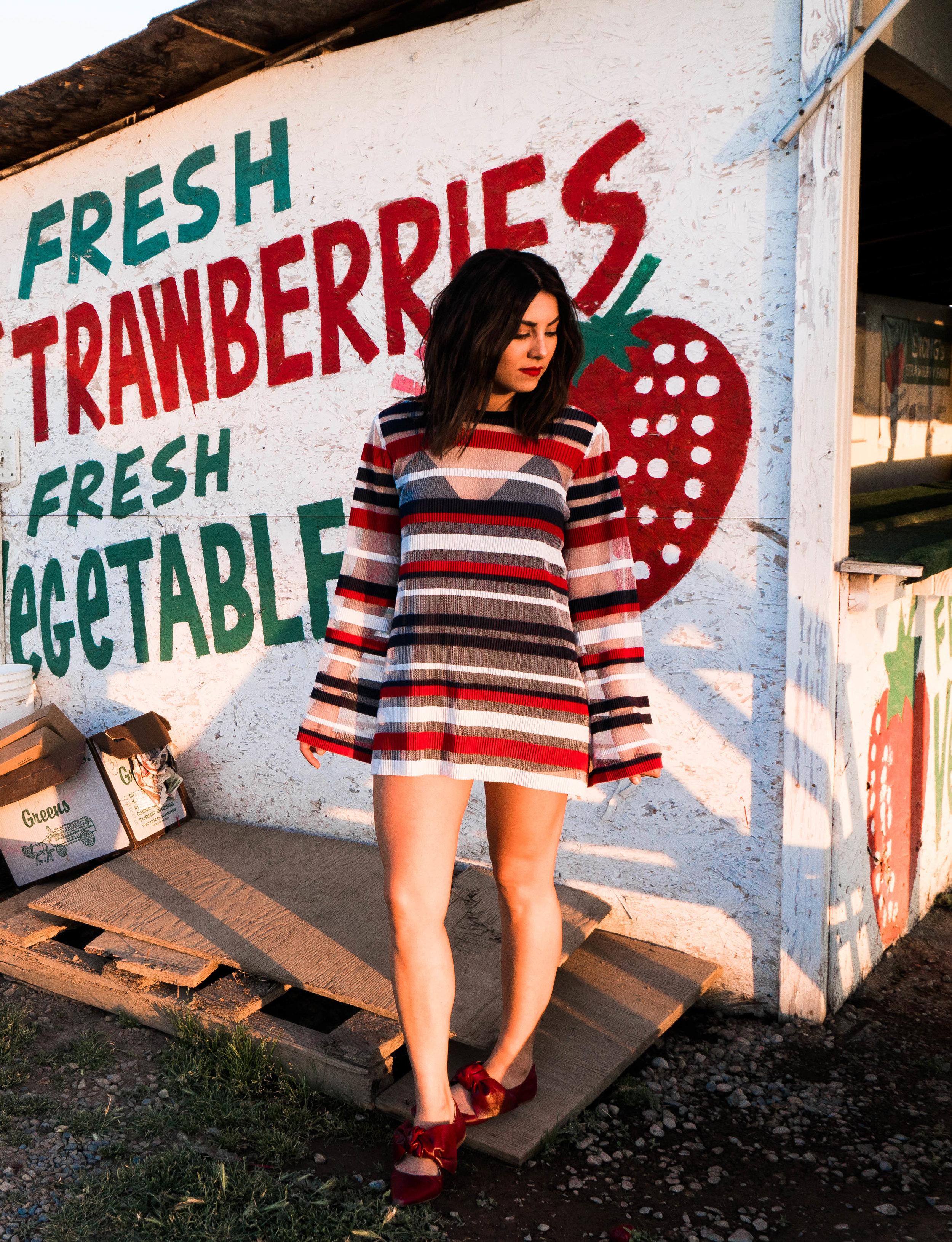 Free People Call Me Mini Dress - Date Night Look - Just As Created 3