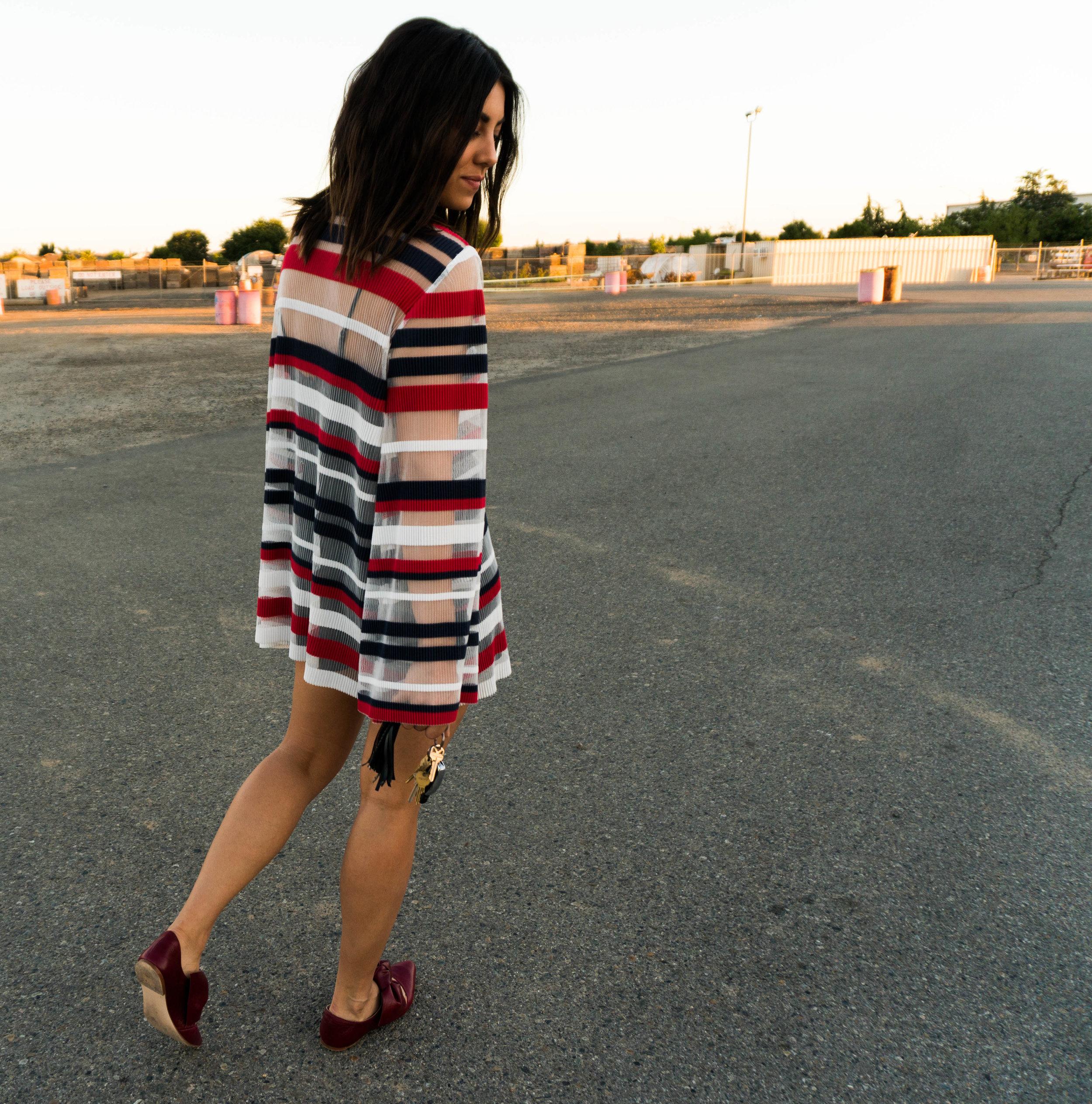 Free People Call Me Mini Dress - Date Night Look - Just As Created 4