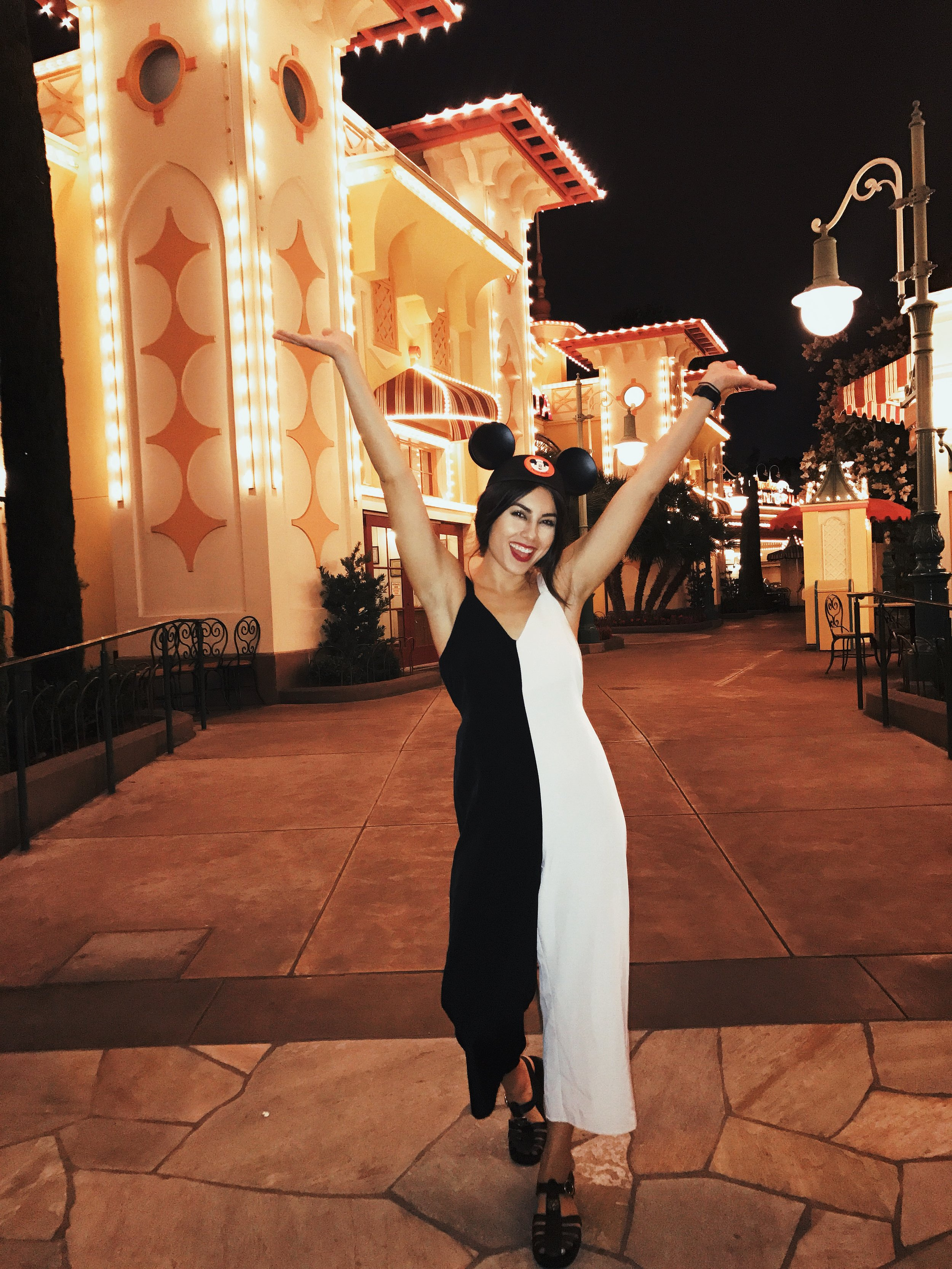 What To Wear to Disneyland - Topshop Jumpsuit