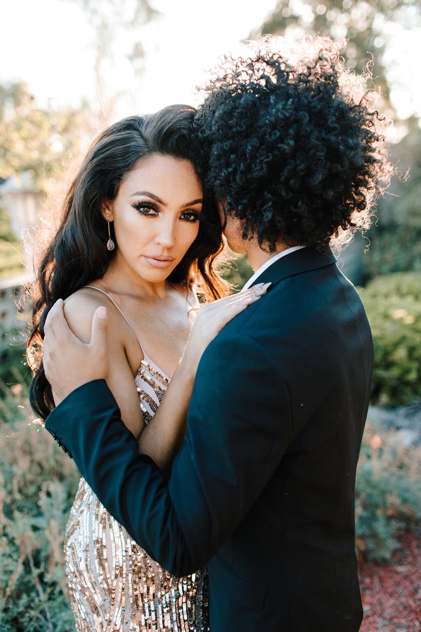Lily Ghalichi wedding day Los Angeles estate