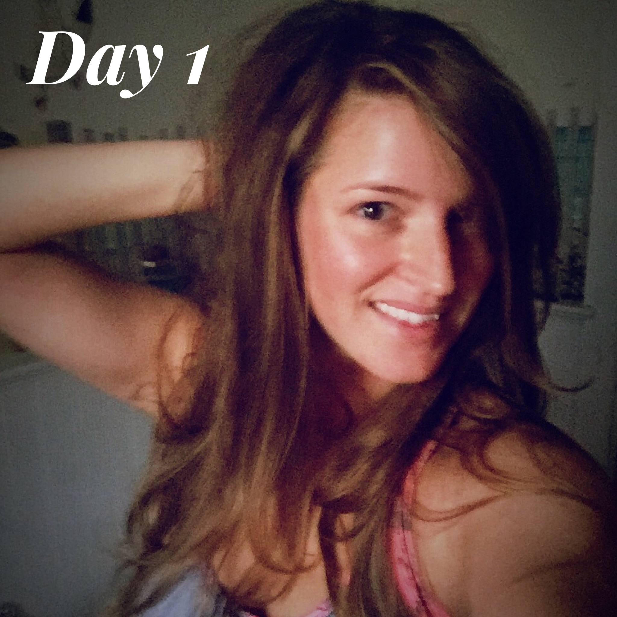 First day after washing and styling my hair with Living Proofs PHD. Loving my hair and this is after a workout!