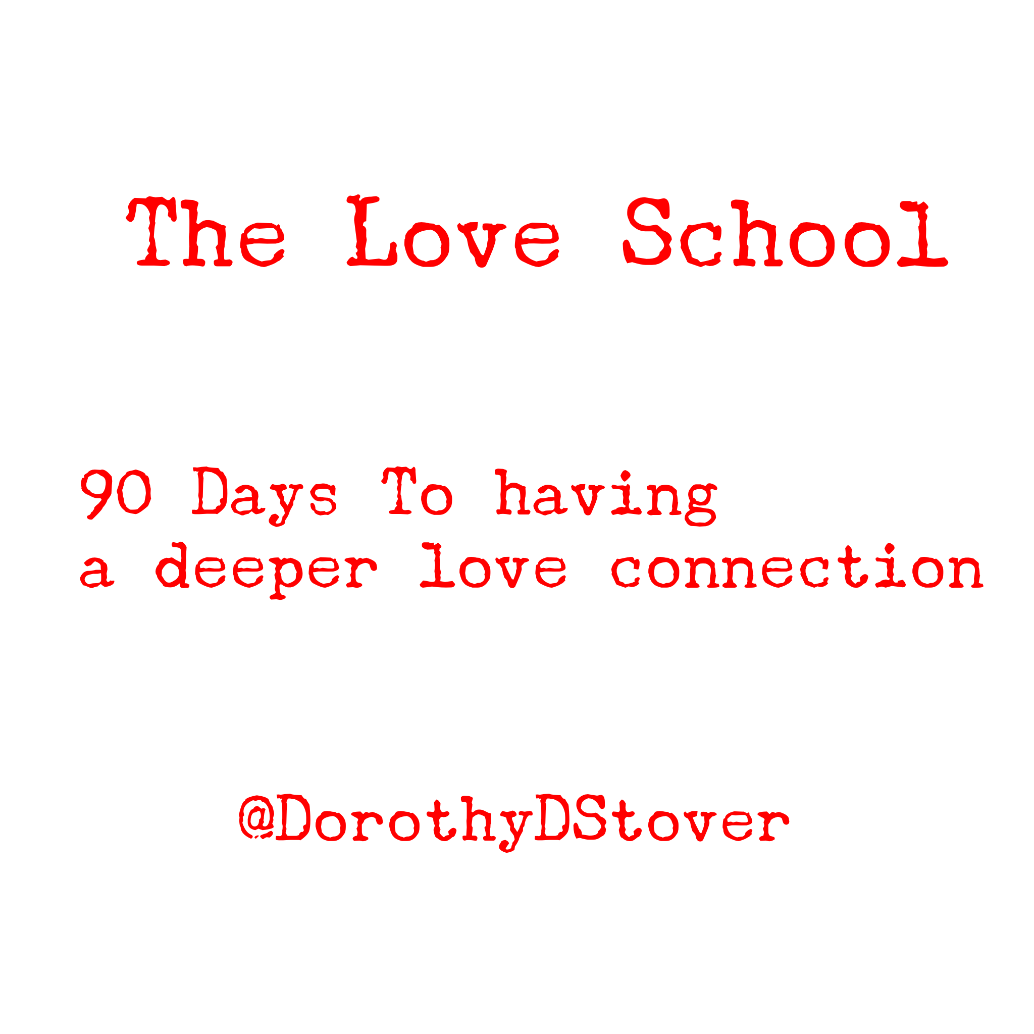 The Love School is for those who want a relationship where they feel deeply connected to their partner while still being true to themselves. The school is built with the idea that most of us don't have enough hours in the day. The Love Lessons take less than 10 minutes a day. Faster than drinking your morning coffee or tea. The Mission of The Love School is to bring more love into the world, one student at a time. This will set a ripple out to all those around each student. We will raise the vibration of us all by doing the love work.