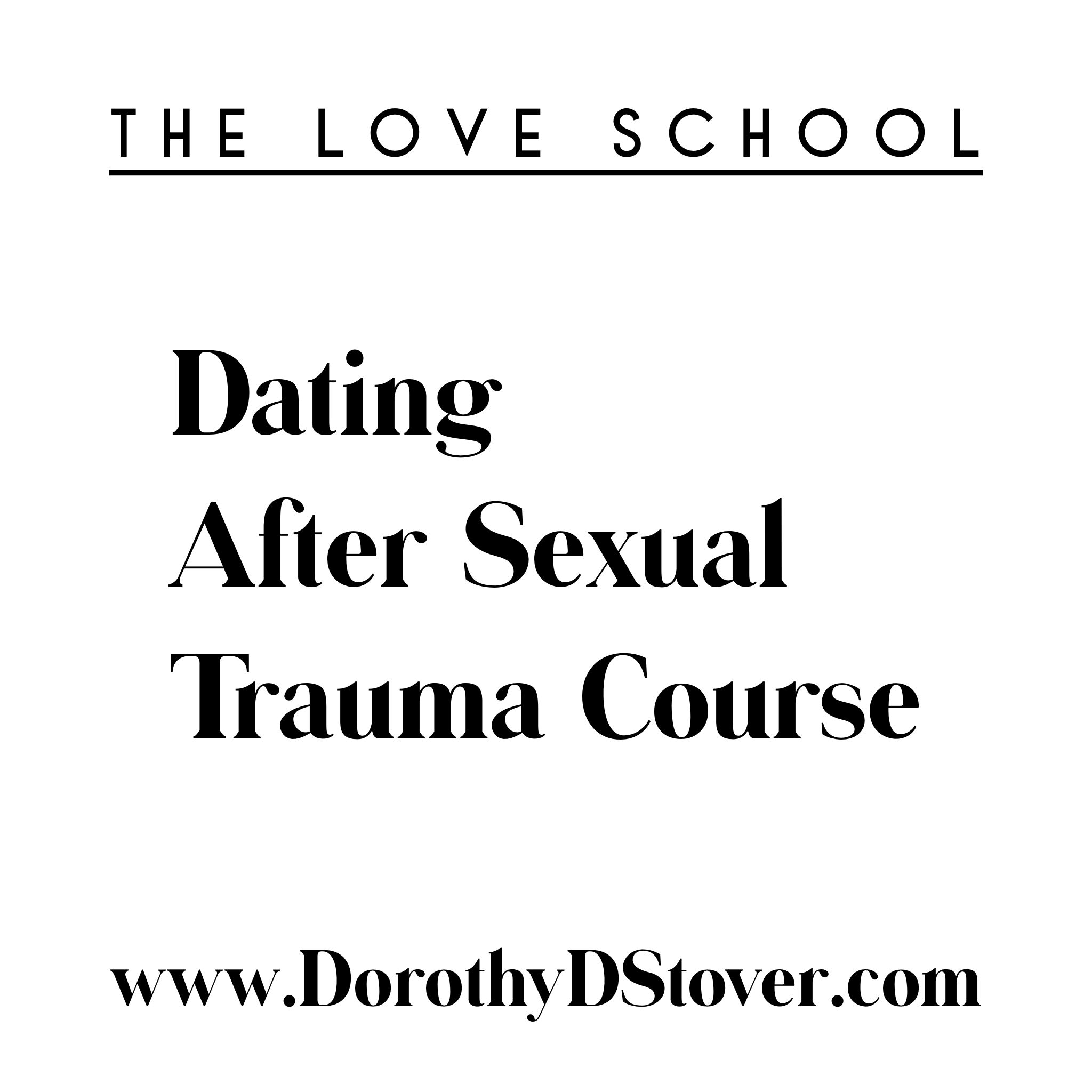 Dating After Sexual Trauma - This course is dating after sexual trauma. The course will take you through what it looks and feels like to be in a healthy dating environment as well as a healthy relationship. How to establish healthy boundaries. The course also takes the student through like step by step helping you find solid matches, screen them, perfect date formula and what to do after a date that leads to a committed and connected partnership while also honoring yourself after sexual trauma.Week 1 - Honoring yourselfWeek 2 - What a healthy dating life looks likeWeek 3 - BoundariesWeek 4 - Where to search for matchesWeek 5 - Screening MatchesWeek 6 - The Perfect Date FormulaWeek 7 - The After-The-Date Best practicesWeek 8 - How to get to a committed relationship