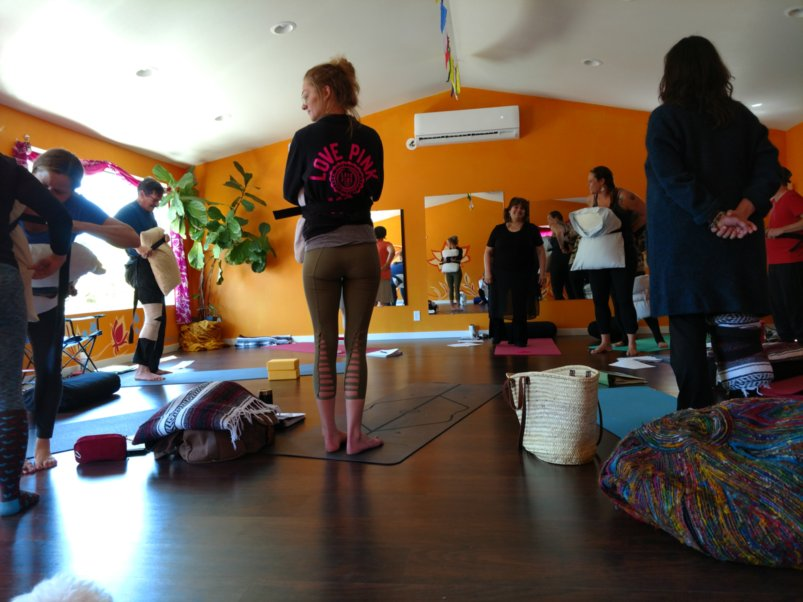 Continuing Education - Sandra Koslowski, My Realbody Yoga creator, shares how to lead an inclusive yoga class with Firefly Yoga teachers.