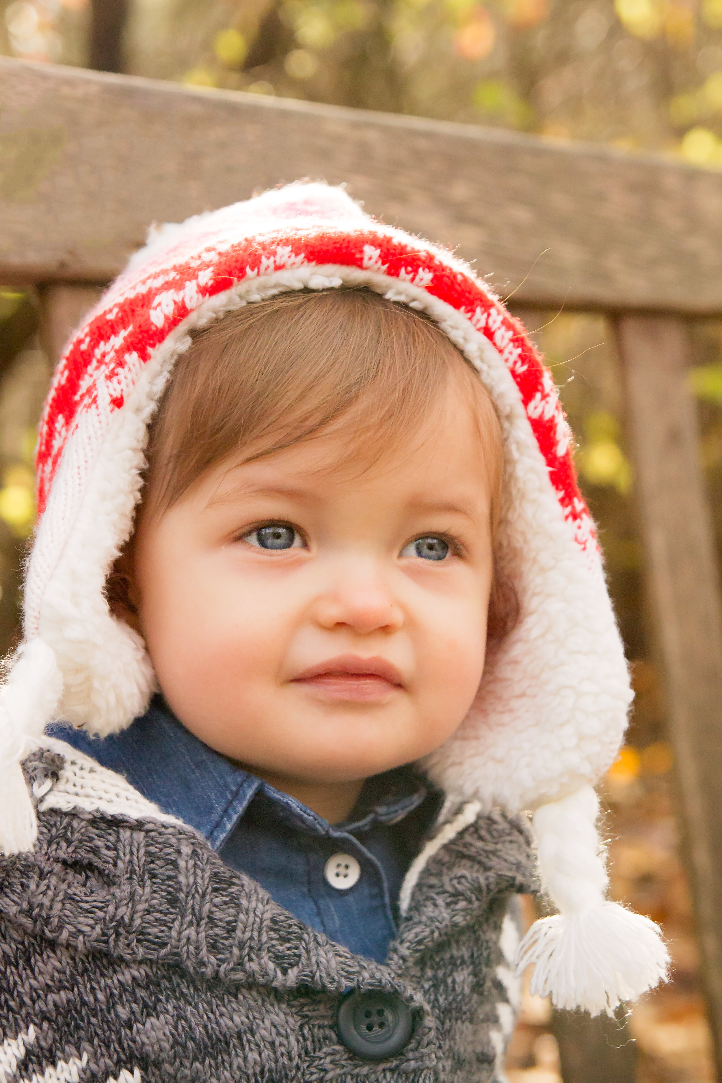 I just loved this cute winter hat