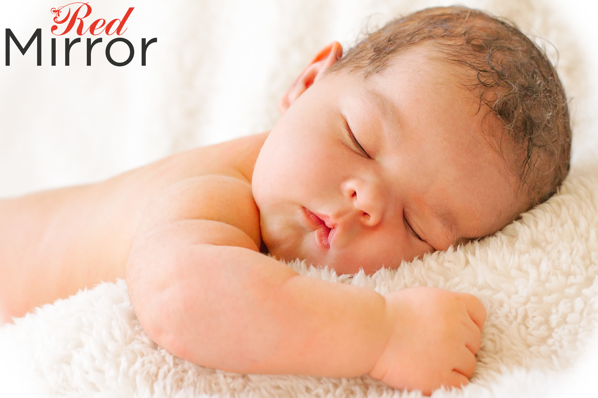 Newborn baby asleep