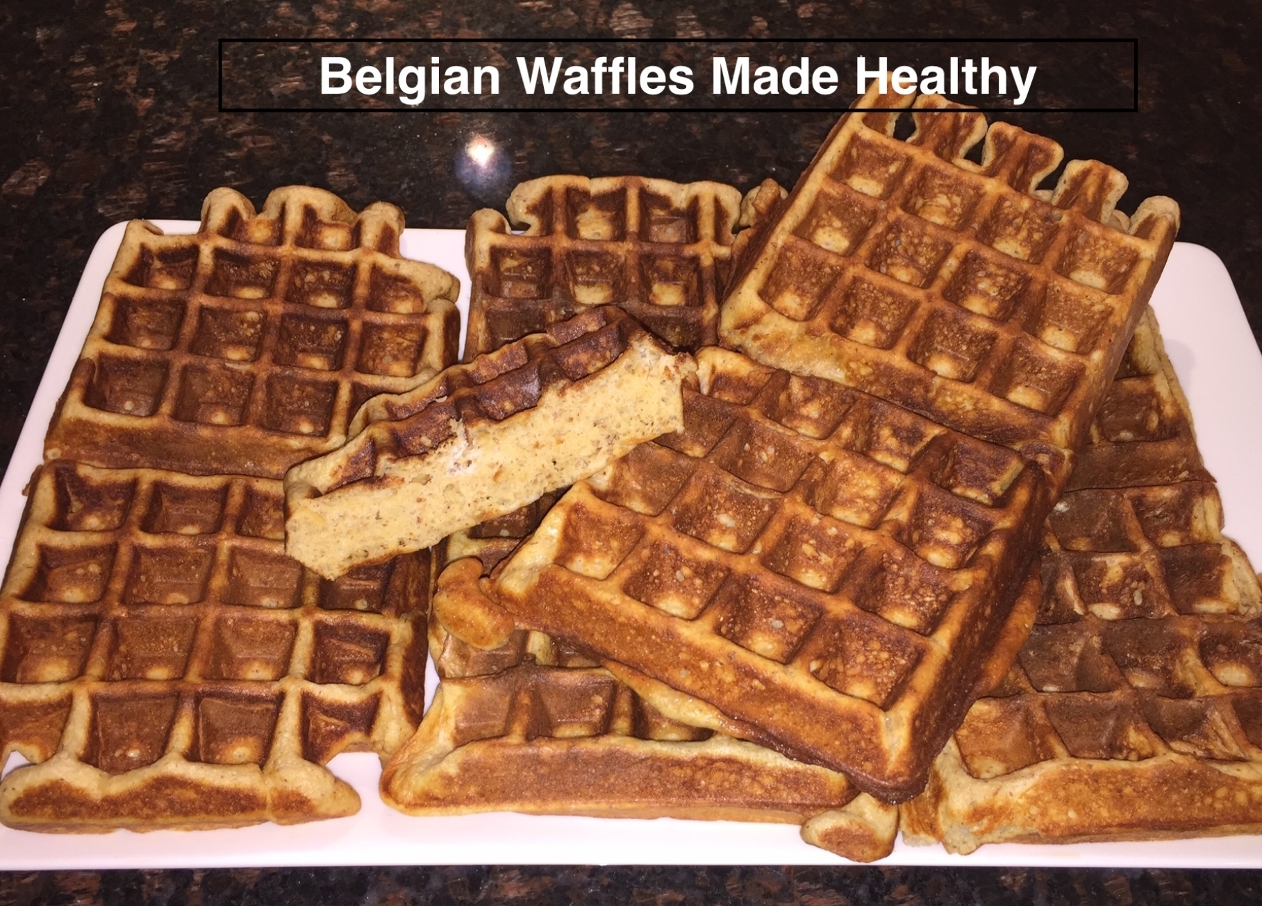 Belgian Waffles Made Healthy