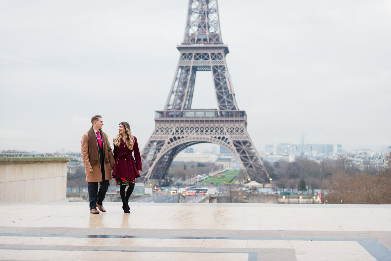 Copy of Copy of Paris photographer for engagement photoshoot at the Trocadero