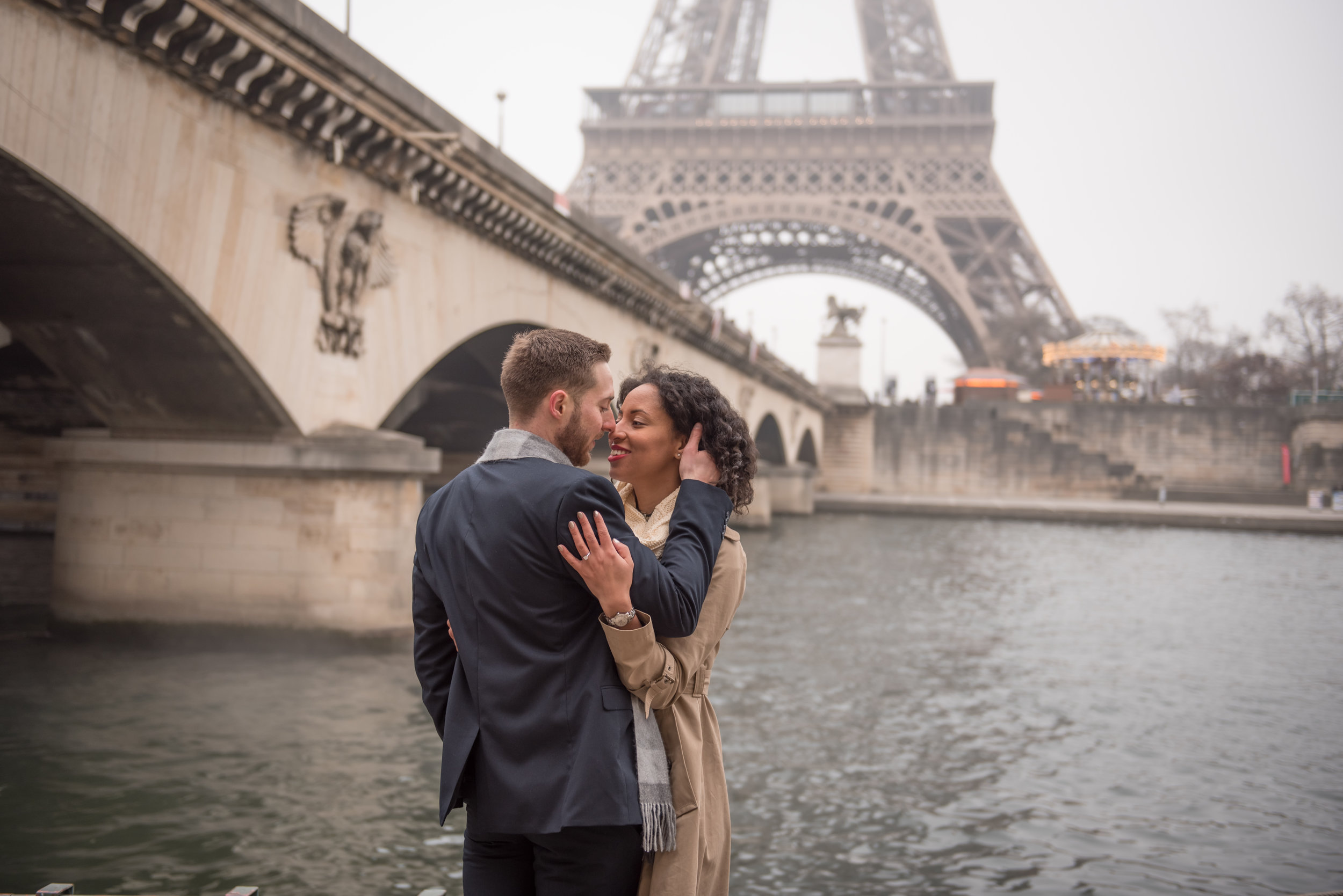 Copy of Copy of Paris photographer Shantha for engaged couples