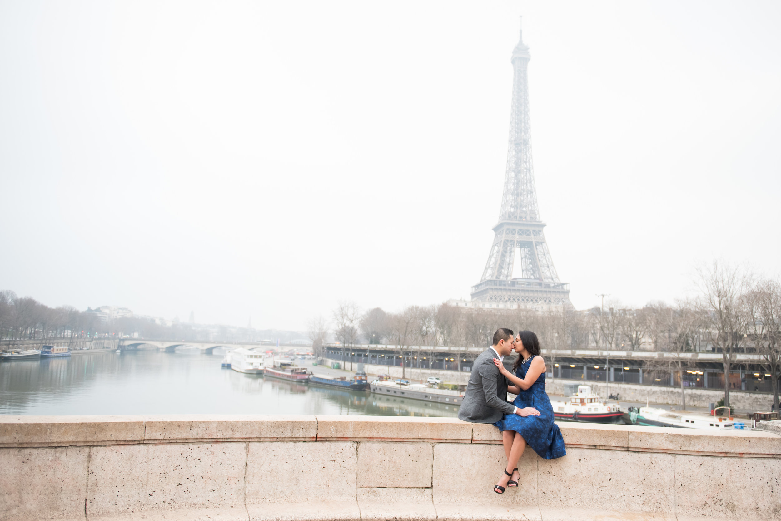 Copy of Copy of Couples engagement photoshoot at Eiffel Tower