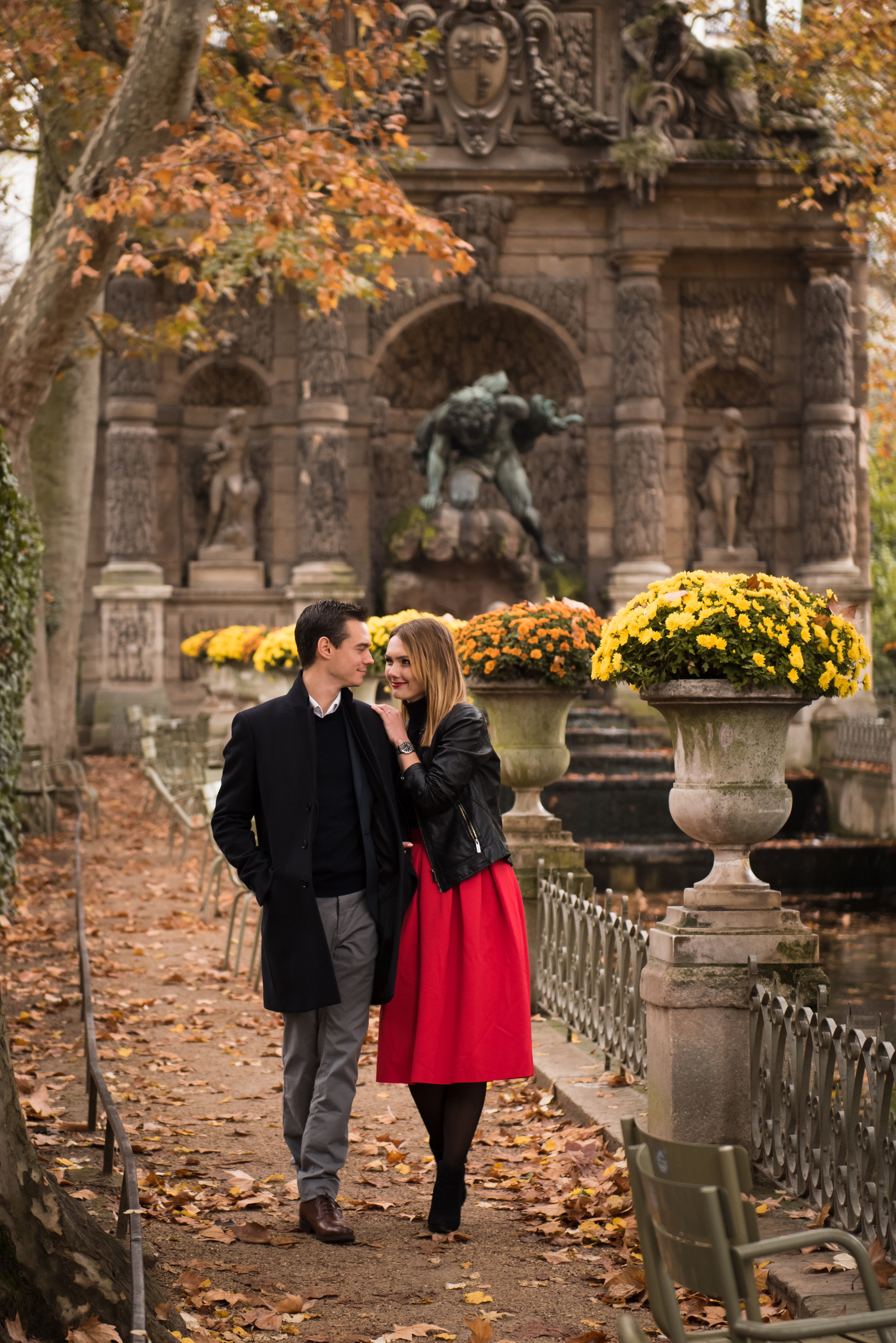 Paris engagement photoshoot in the autumn at Jardin du Luxembourg-75.jpg