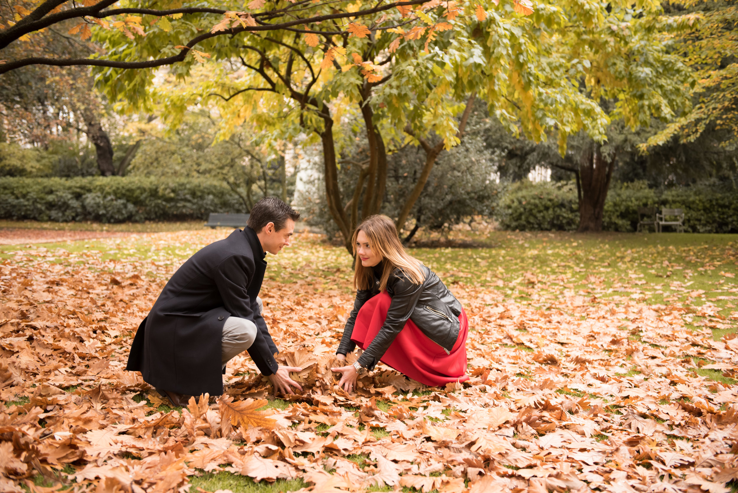 Paris engagement photo session in the autumn at Jardin du Luxembourg-48.jpg