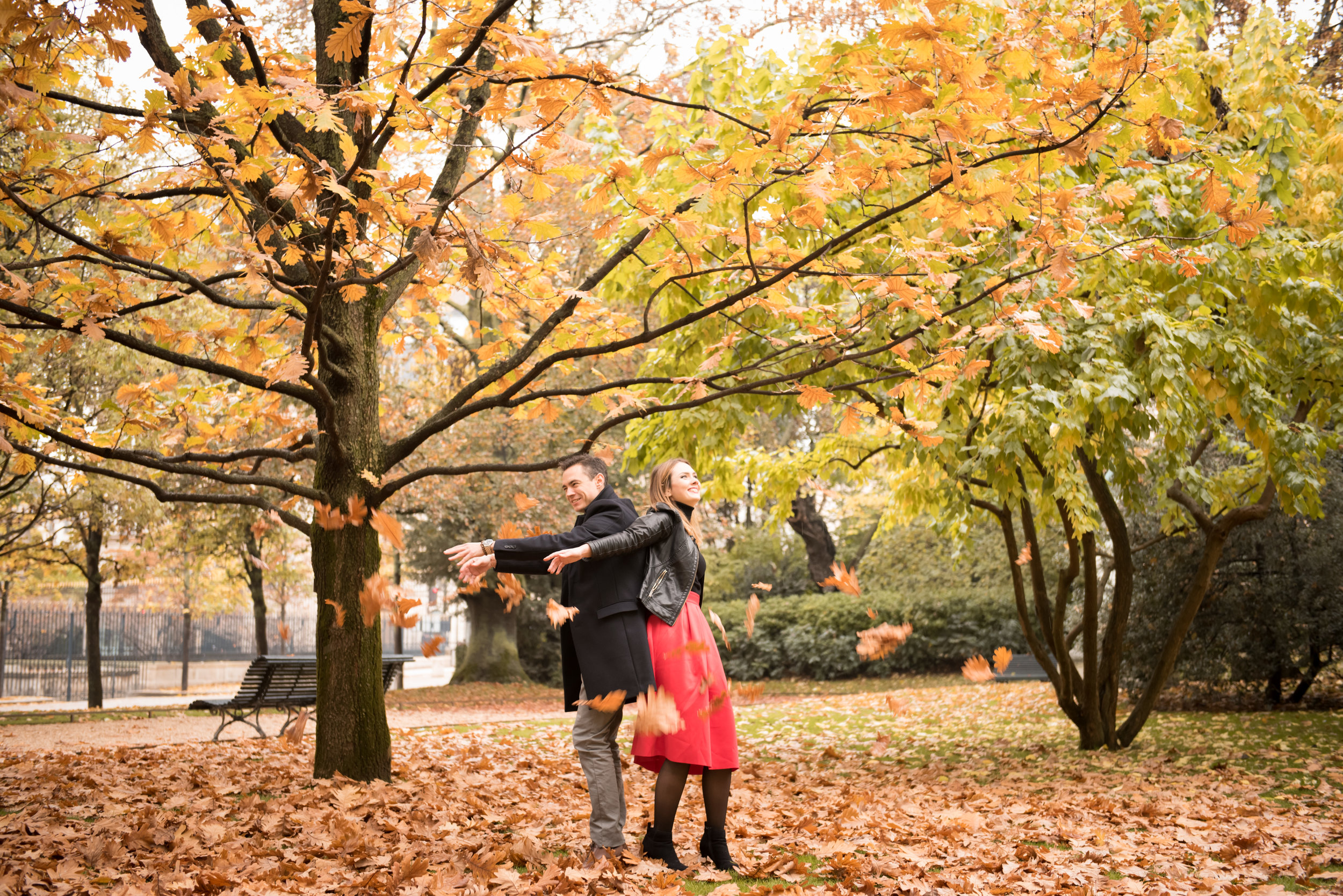 Paris engagement photo session in the autumn at Jardin du Luxembourg-46.jpg