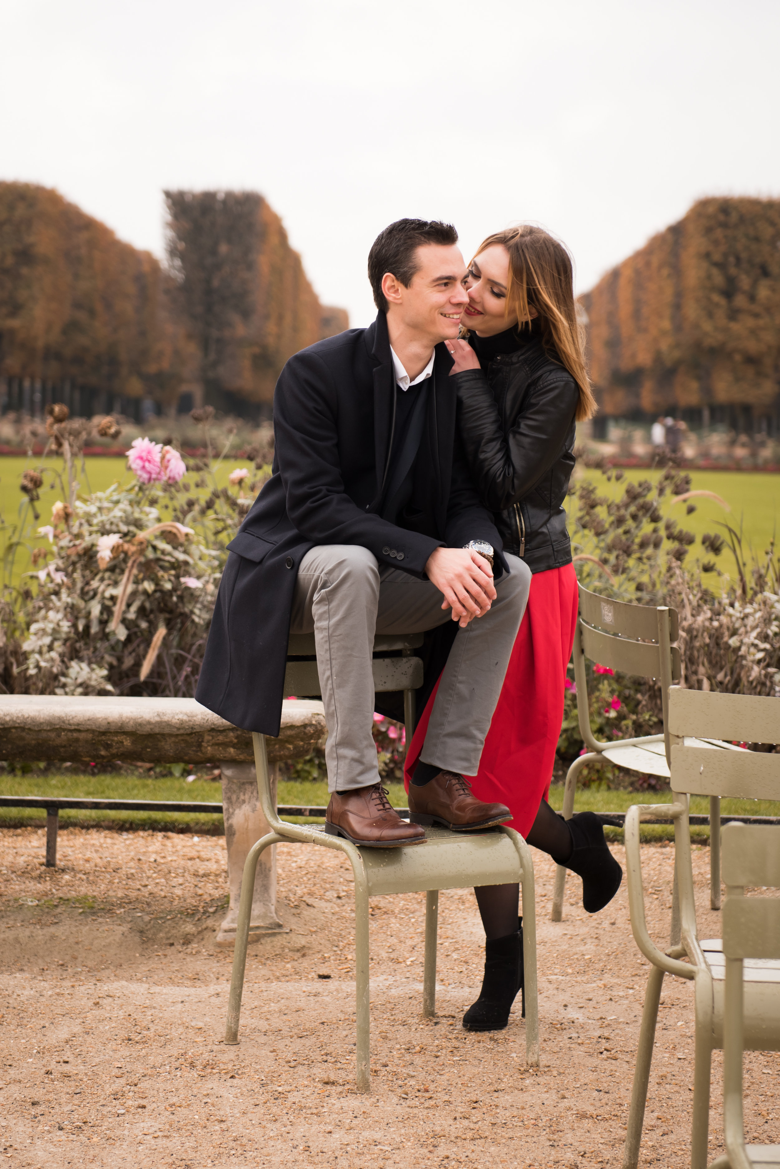 Paris engagement photo session in the autumn at Jardin du Luxembourg-36.jpg