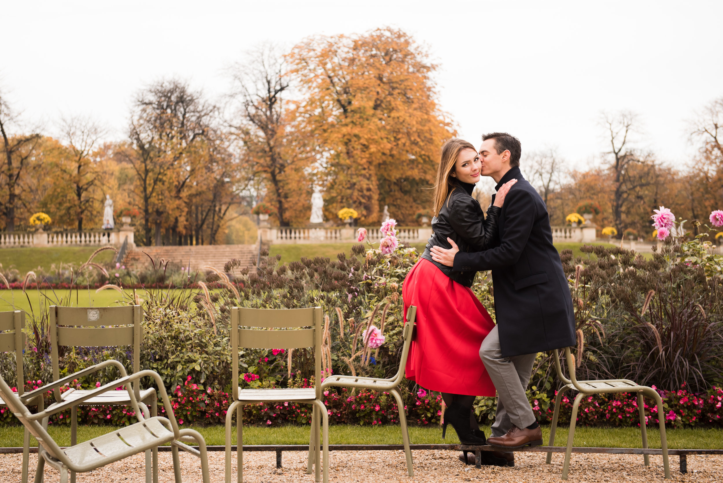 Paris engagement photo session in the autumn at Jardin du Luxembourg-28.jpg